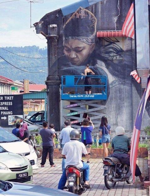 Macam macam mural by julia valchkova balik pulau pulau pinang for Mural yang cantik