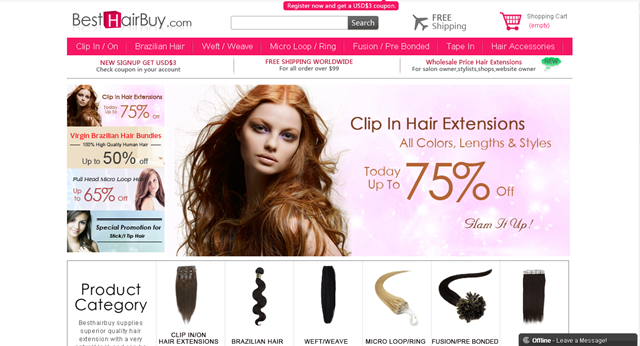 hair extensions cheap