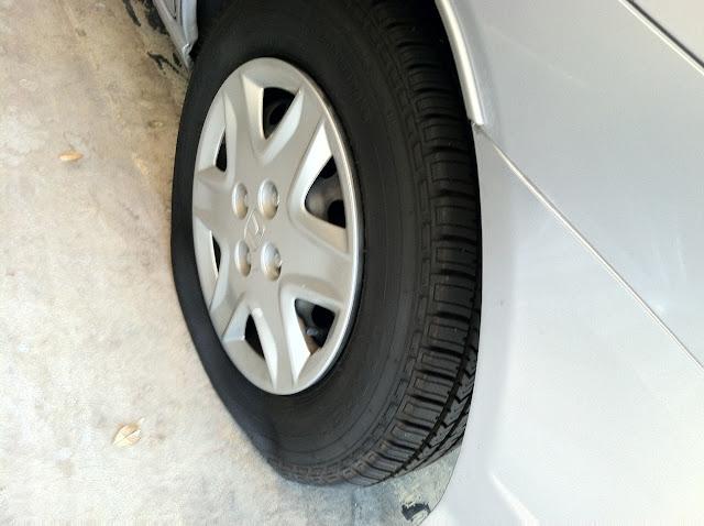 how to change a flat tire honda civic