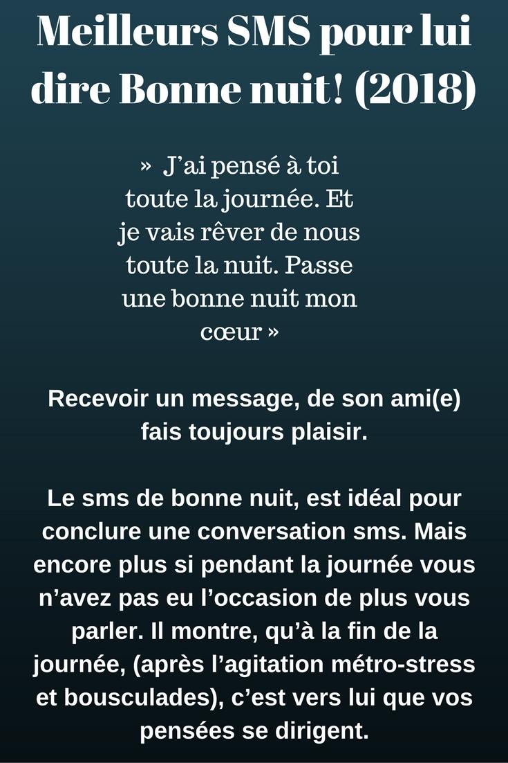 SMS d\'Amour pour dire Bonne Nuit   SMS d\'amour et Messages drôles