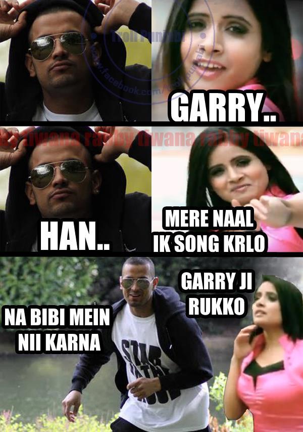 Miss Pooja Funny Troll Punjabi