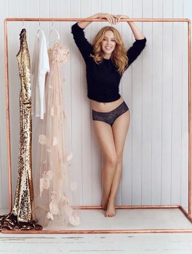 Sloggi ropa interior braguitas campana Kylie Minogue