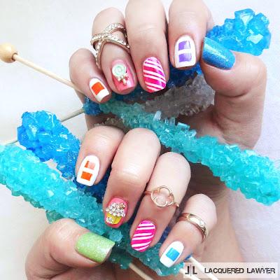 Candyland Nail Art