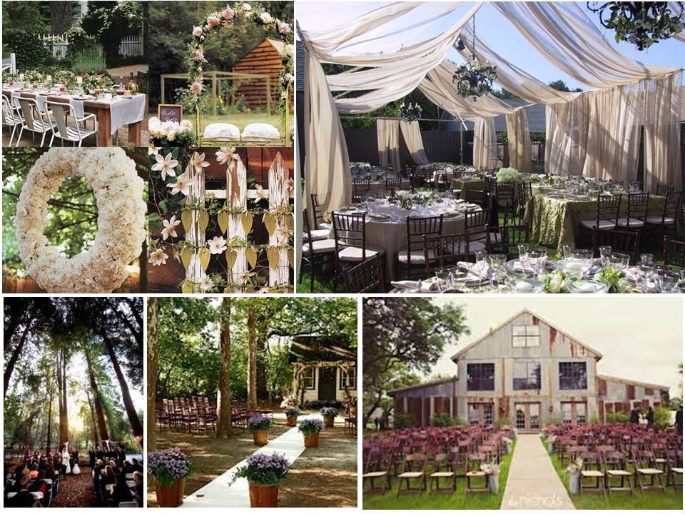 Plan A Wedding On A Budget The Rustic Wedding Theme