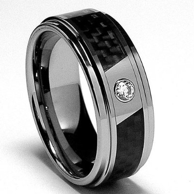 design wedding rings engagement rings gallery mens tungsten wedding bands with black diamonds. Black Bedroom Furniture Sets. Home Design Ideas