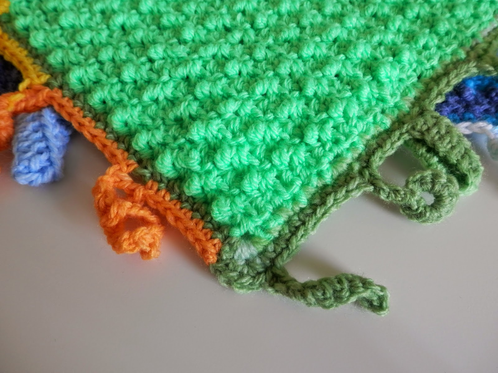 Crochet Chat Corner: New pattern tag baby blanket