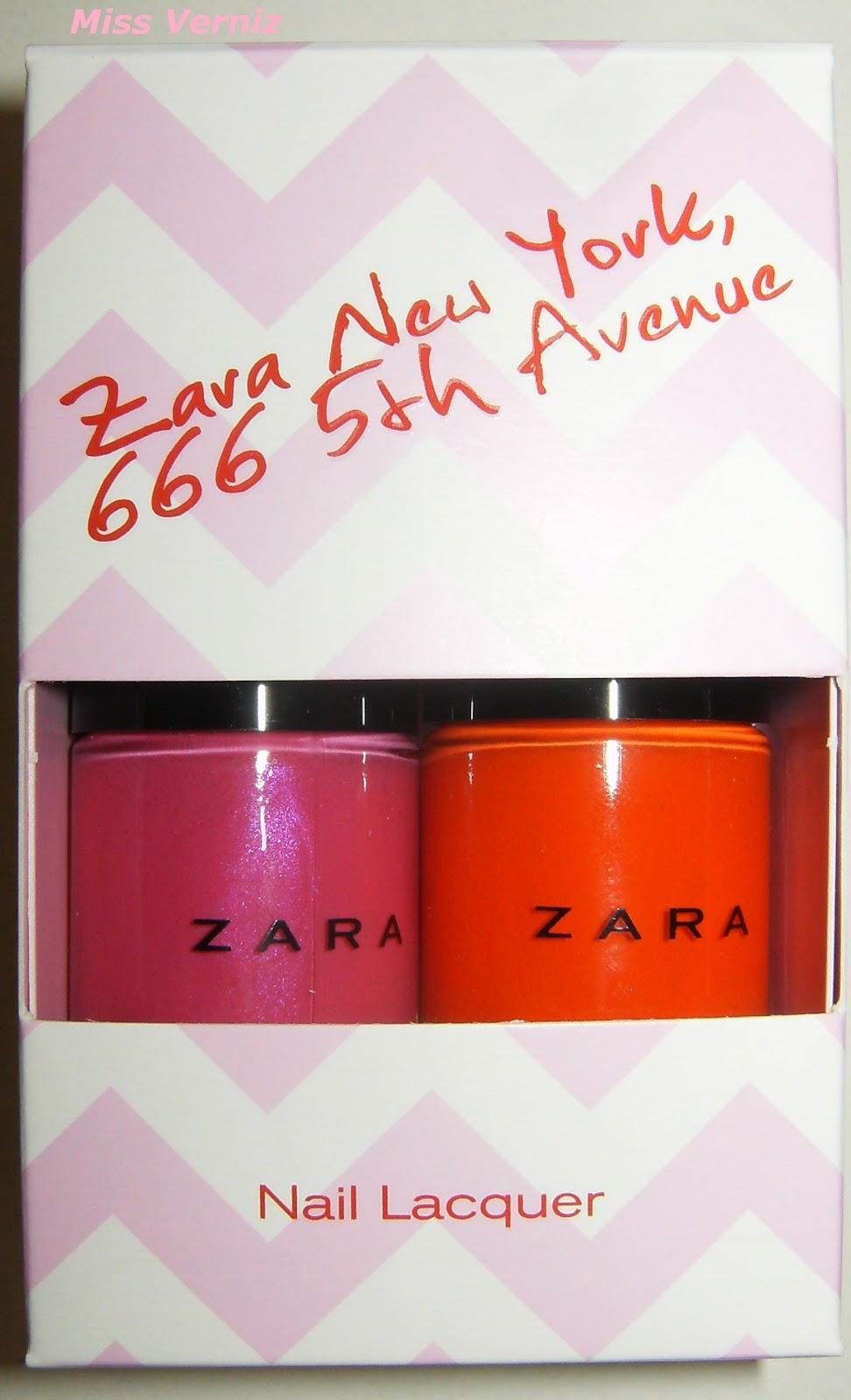 Miss Verniz  Conjunto Zara New York 666 5th Avenue...!!!! 6df52995287