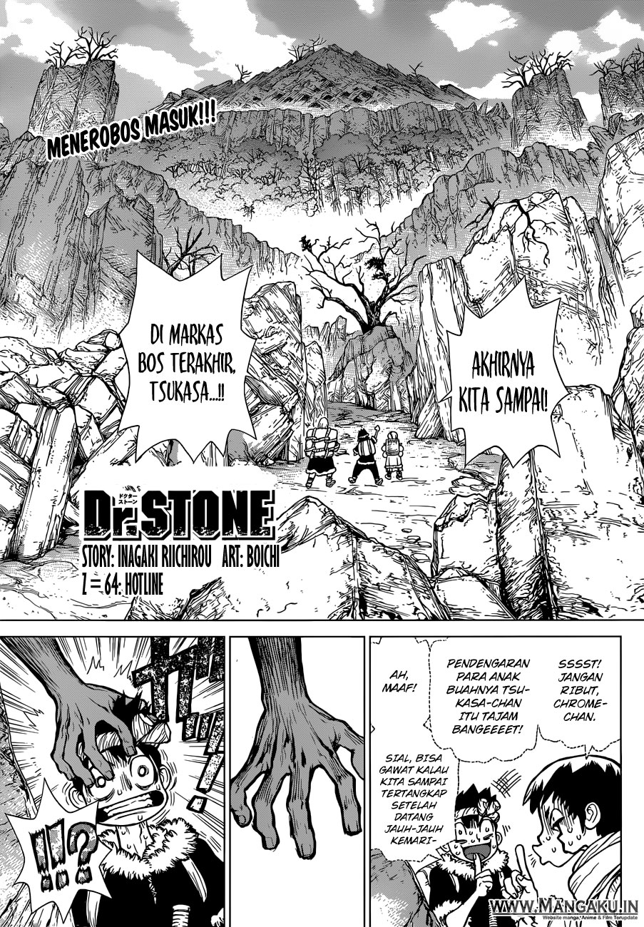 Dr. Stone Chapter 64-0