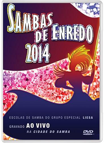 DVD Sambas de Enredo (2014) DVD-R
