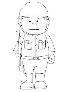 desenhos para colorir dia dos soldados