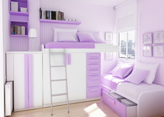 21 Designs Thoughtfully Teenage Bedroom | luxury house, best house ...