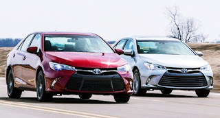 2017 Toyota Camry Redesign Competitors