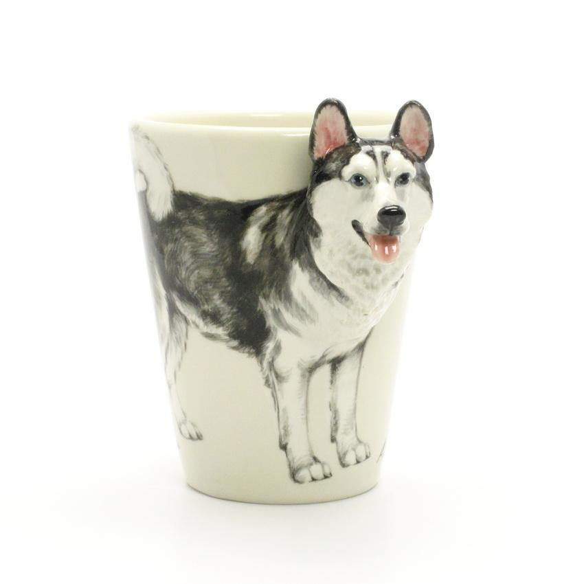 Muddymood Dog Mugs Alaskan Malamute Coffee Mug 00001