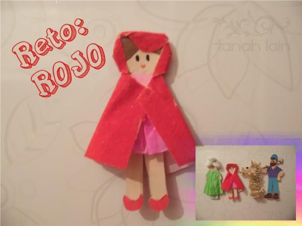 RETO ROJO: Caperucita Roja en el Refrigerador. Manualidades / General