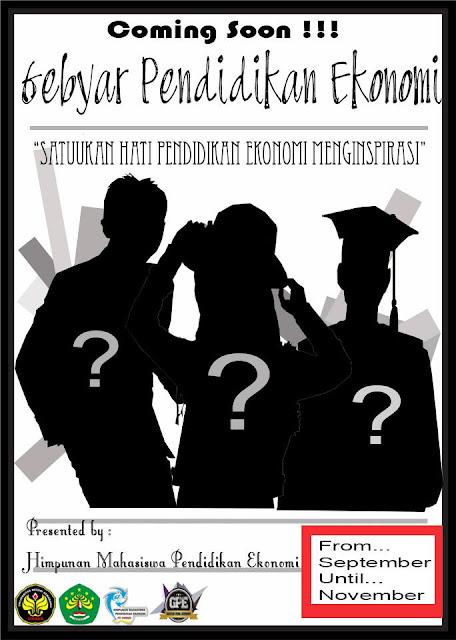 Comiing soon Gebyar Pendidikan Ekonomi