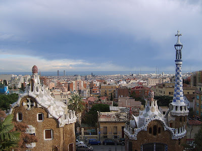 Barcelona from Parc Guell
