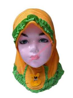 jilbab untuk bayi