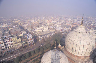from minaret of Jama Masjid delhi