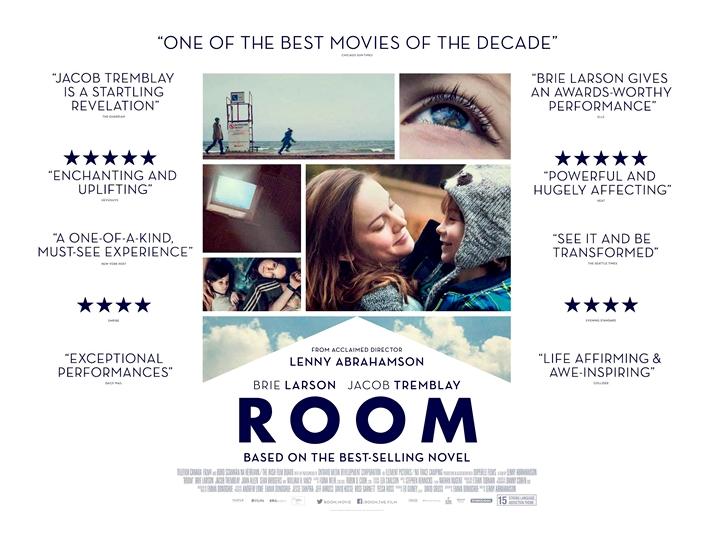 Póster: Room, Lenny Abrahamson