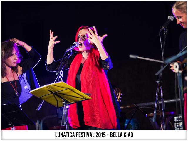 Lunatica Festival 2015 - Domenica 26 Luglio - Bella Ciao - Montignoso - Villa Schiff