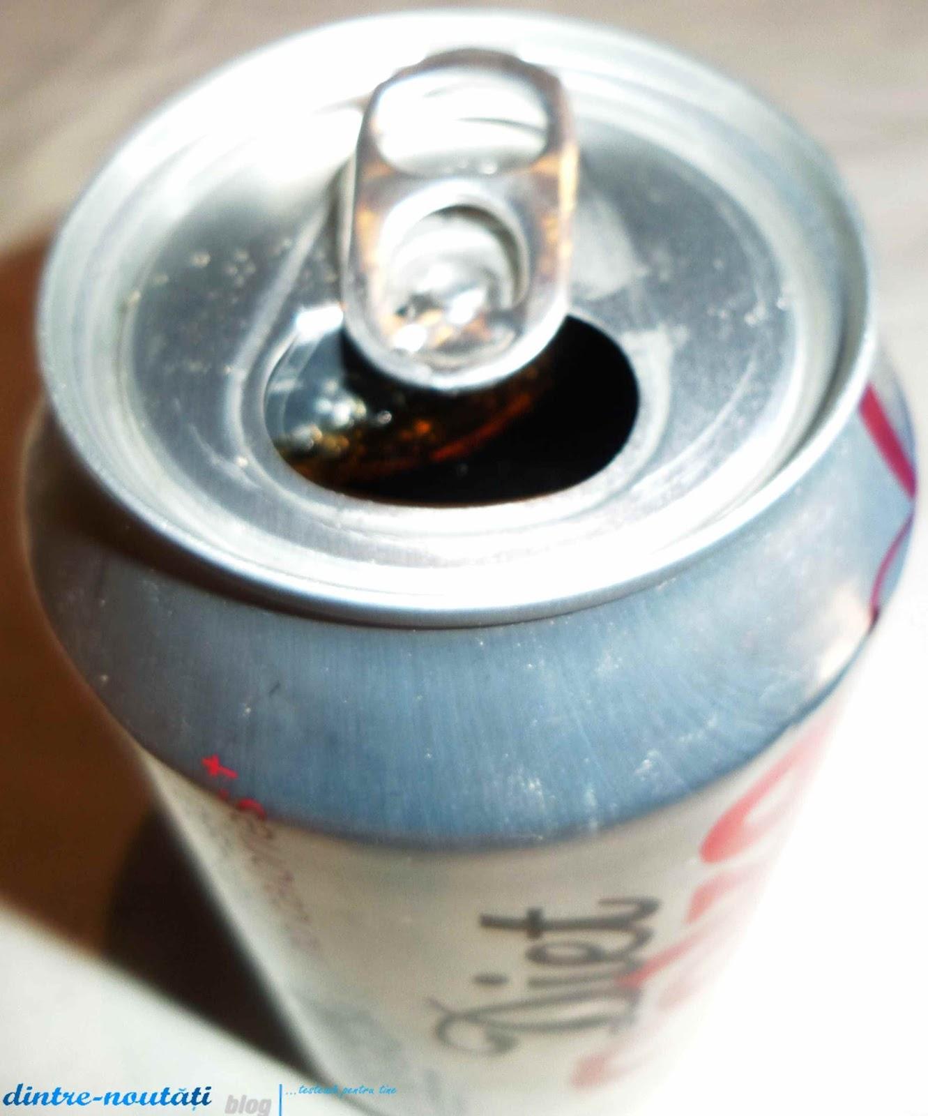 Diet Coke cu cirese dietetica