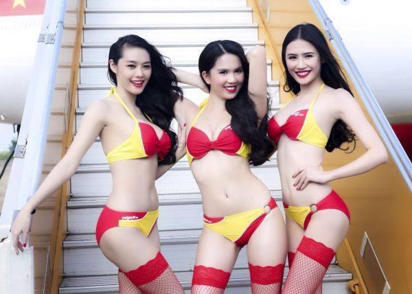 Foto Seksi Pramugari Untuk Promosi