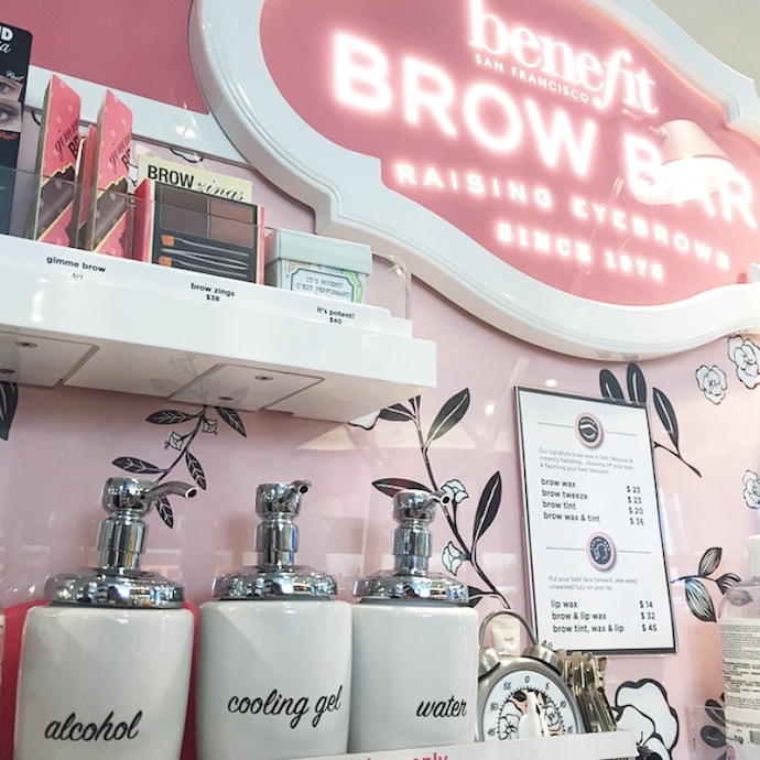 Benefit Brow Bar Vancouver Canada a quick review