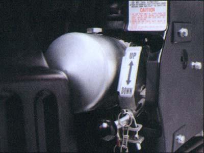 Electro Hydraulic Cab Tilt Tractor Head FV