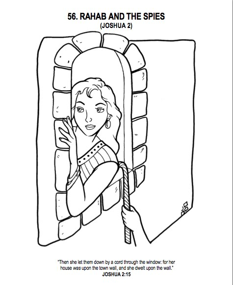 Rahab The Coloring Book