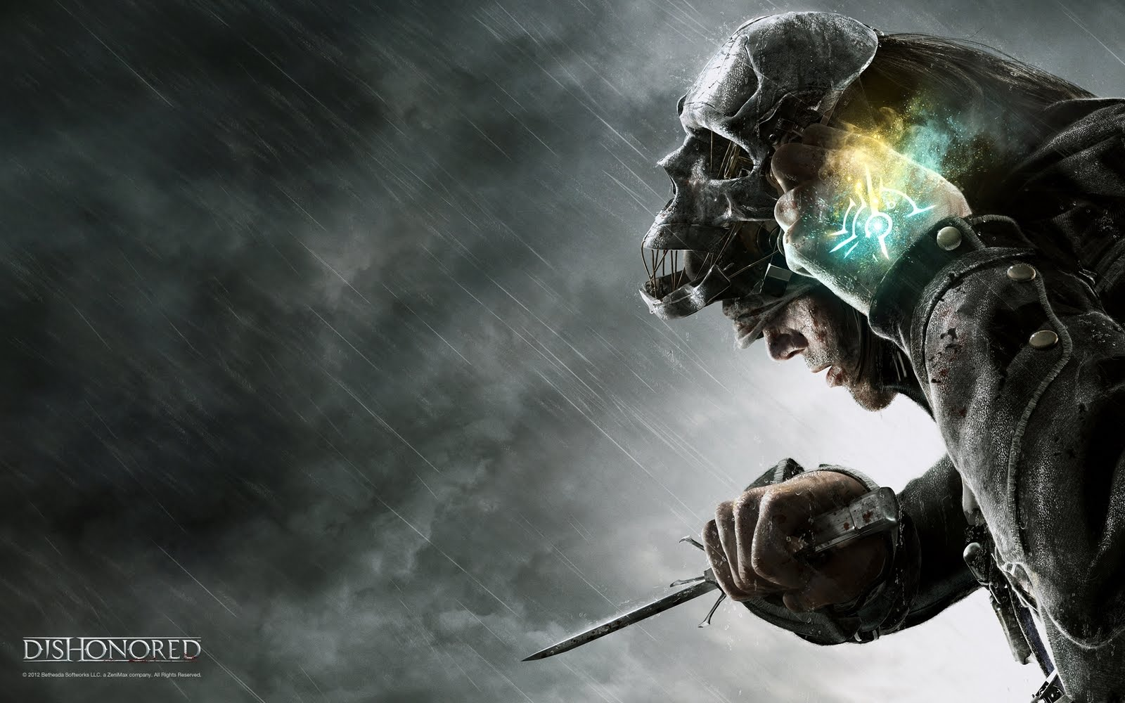 Rendered Bits Dishonored Wallpaper