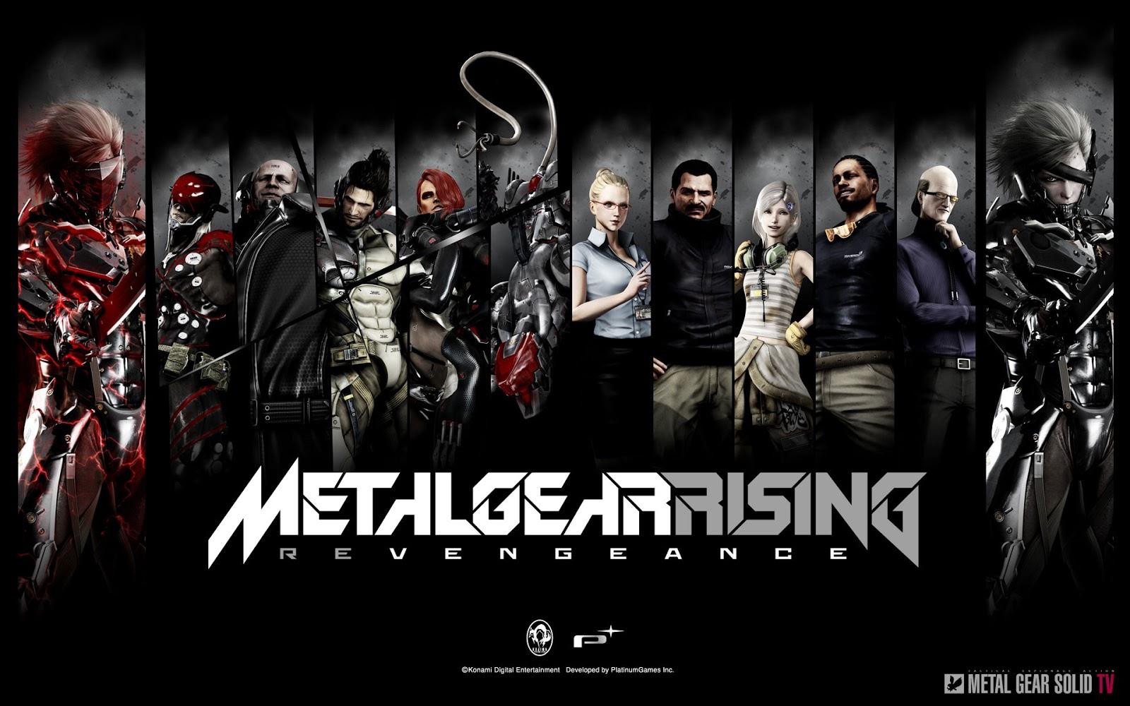 metal gear solid tv metal gear rising revengeance