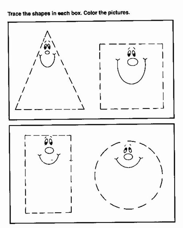 Atividades De Coordenacao Motora on Geometri Shapes English