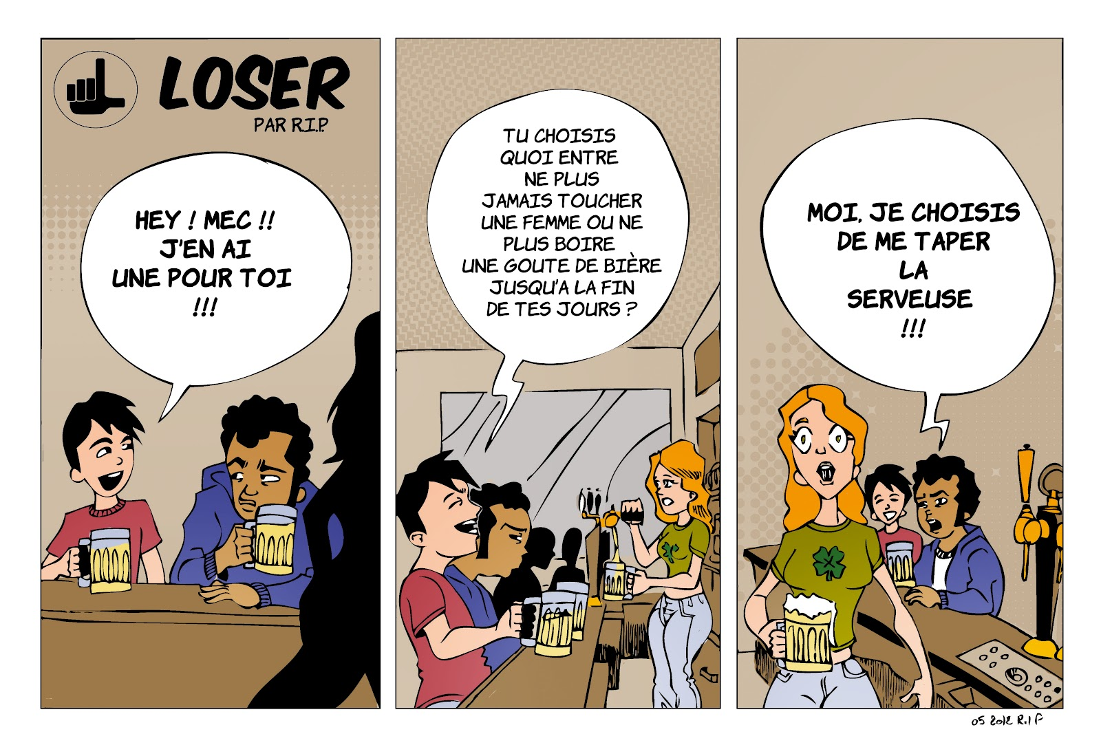 Alex Rip Illustrations / Bandes Dessinées: Loser 06