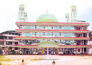 glass mosque in India Picture