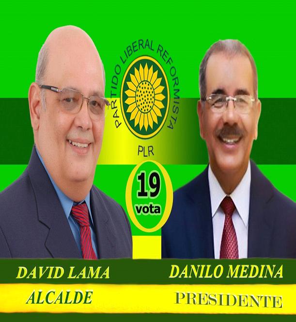 ING. DAVID LAMA, ALCALDE PLR SANTA CRUZ DE BARAHONA 2016-2020