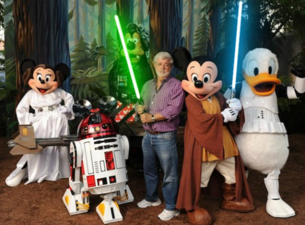 Disney and Lucasfilm, Image Credit: Todd Anderson/Disney via Getty Images