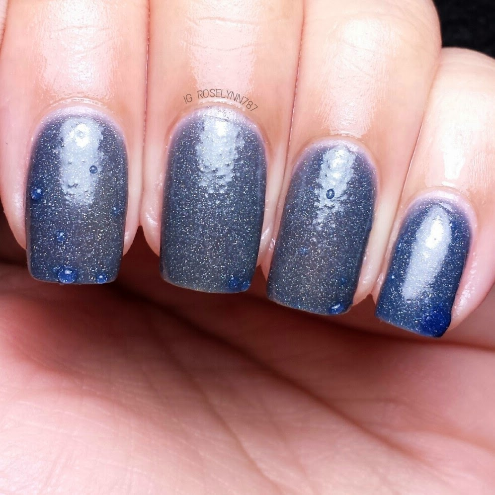 Quickie Swatch: Dark Knight by Fancy Gloss - Manicured & Marvelous