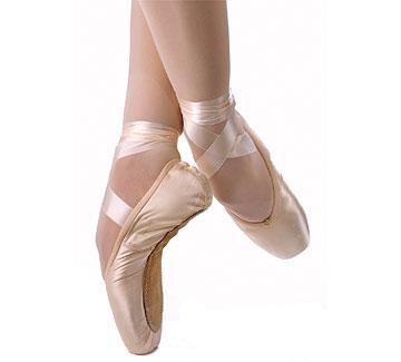 ballet shoes. pointe shoes- where to begin, i knew that they were soft pink or skin tone satin, had ribbons and a toe box...internet here come! ballet shoes