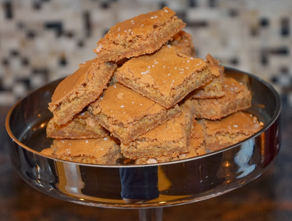 Christopher Cooks: Salted-Caramel Brown Butter Chewy Bars