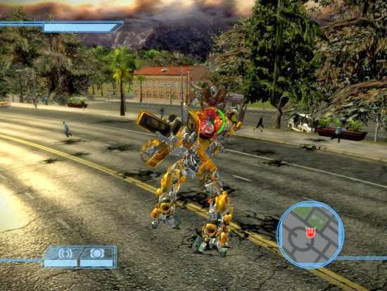 Download Transformers The Game RIP PC Game Free