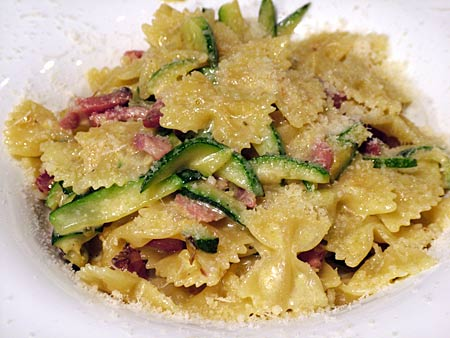 ricetta zucchine con speck