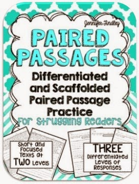 http://www.teacherspayteachers.com/Product/Paired-Passages-Scaffolded-and-Differentiated-Practice-1527569