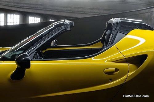 Alfa Romeo 4C Spider Side