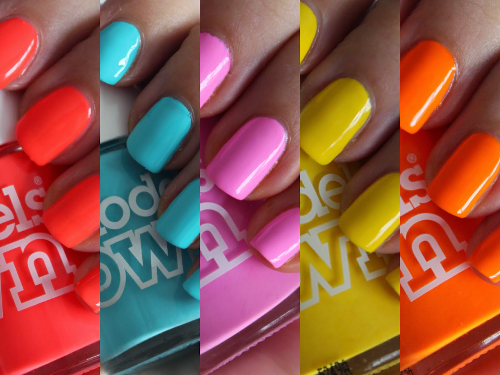 The new polish for tans collection from Models Own - review and ...