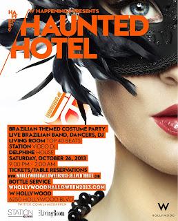 """W Hotel Halloween in Los Angeles"""