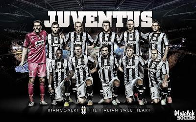 Wallpaper Skuad Juventus Sepakbola Terbaru 2012-2013 (Edisi 7 Tgl 5 Oktober 2012)