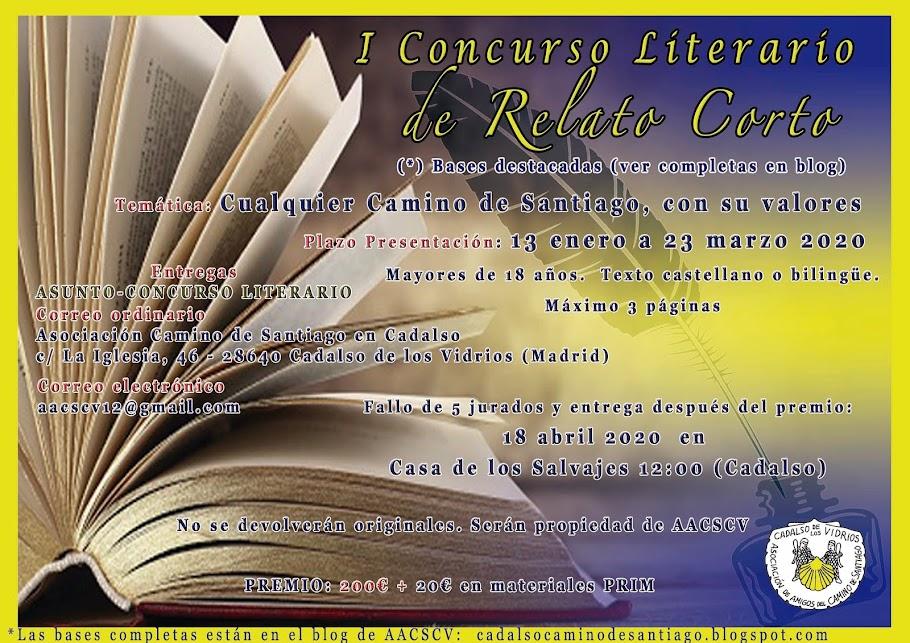 CONCURSO LITERARIO RELATO CORTO