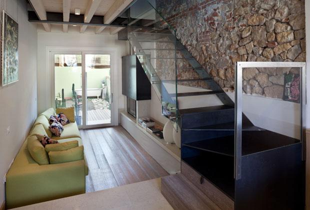 Appartamento duplex 45 mq giorgio parise architetto for Case ristrutturate da architetti foto