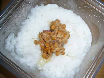 納豆にアンチョビそしておかゆ(アンチョビ レシピ)