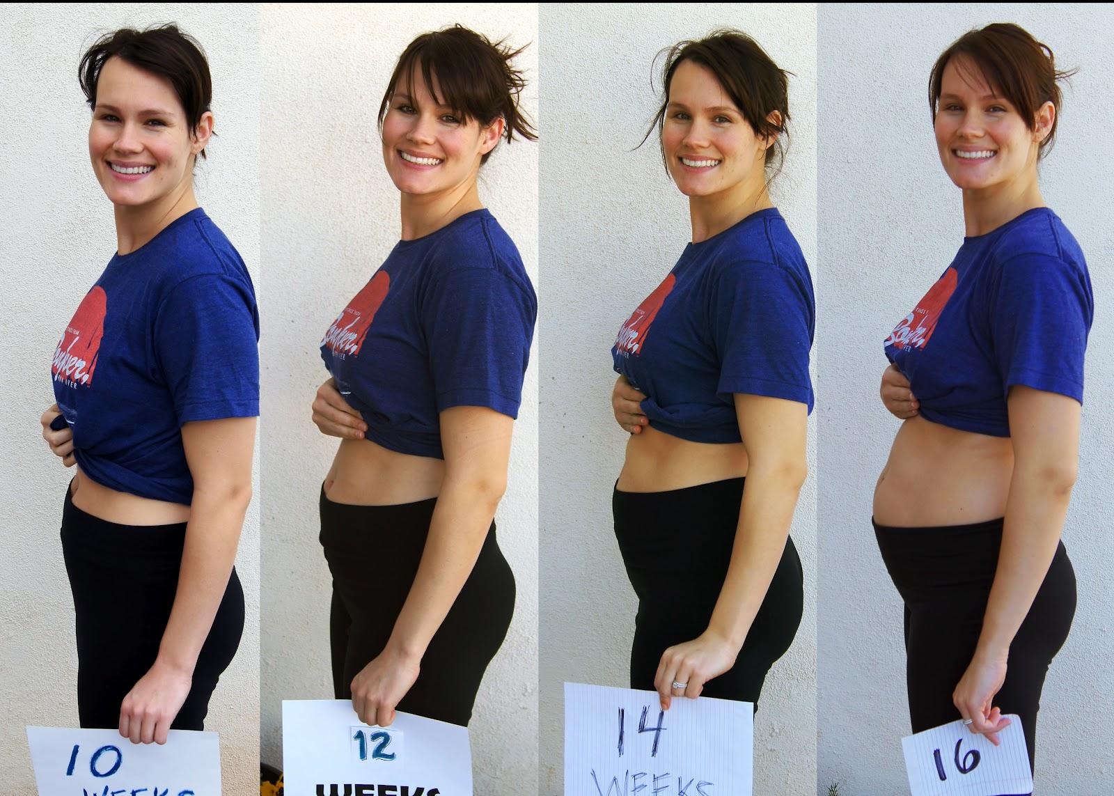 Какого размера живот у беременной 93